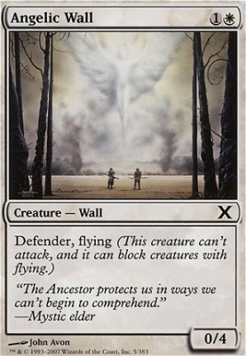 10th Edition: Angelic Wall