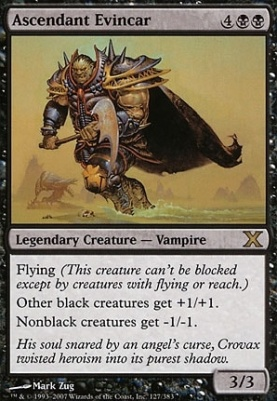 10th Edition: Ascendant Evincar