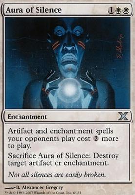10th Edition: Aura of Silence