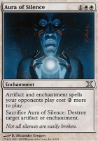 10th Edition Foil: Aura of Silence