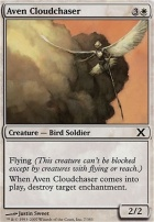 10th Edition Foil: Aven Cloudchaser