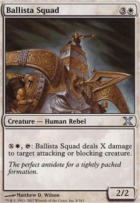 10th Edition: Ballista Squad