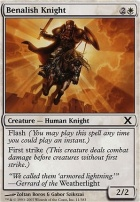 10th Edition Foil: Benalish Knight