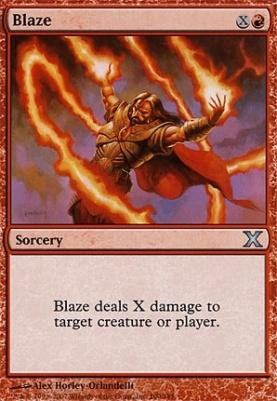 10th Edition: Blaze