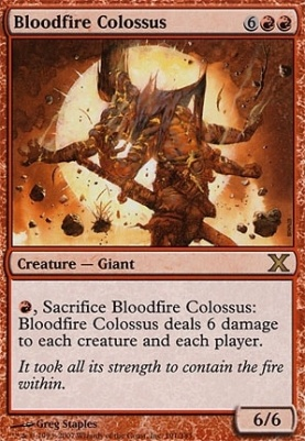 10th Edition: Bloodfire Colossus