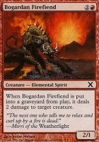 10th Edition Foil: Bogardan Firefiend
