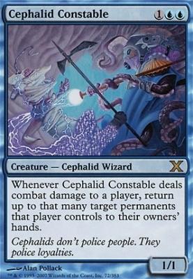 10th Edition Foil: Cephalid Constable