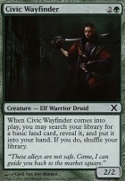 10th Edition Foil: Civic Wayfinder