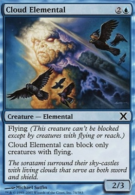 10th Edition Foil: Cloud Elemental