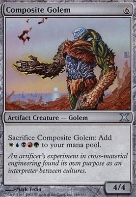 10th Edition Foil: Composite Golem