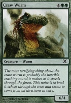 10th Edition Foil: Craw Wurm