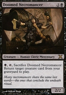 10th Edition: Doomed Necromancer