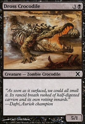 10th Edition: Dross Crocodile
