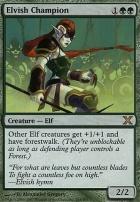 10th Edition: Elvish Champion
