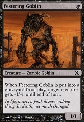 10th Edition: Festering Goblin
