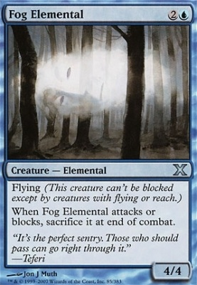 10th Edition: Fog Elemental