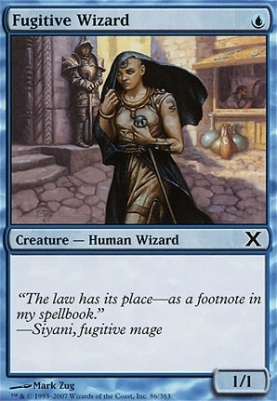 10th Edition: Fugitive Wizard