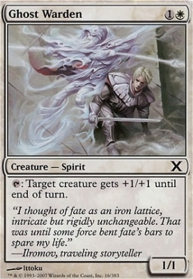 10th Edition: Ghost Warden
