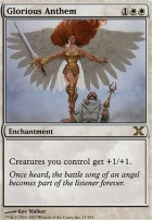 10th Edition Foil: Glorious Anthem