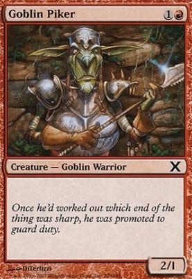 10th Edition: Goblin Piker