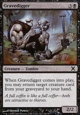 10th Edition: Gravedigger