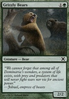 10th Edition Foil: Grizzly Bears