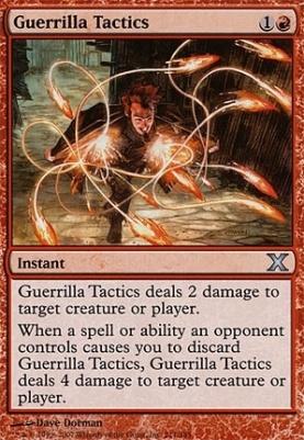 10th Edition: Guerrilla Tactics