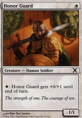 10th Edition: Honor Guard