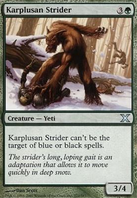 10th Edition: Karplusan Strider