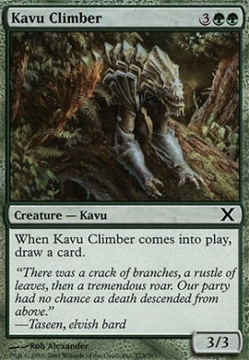 10th Edition: Kavu Climber