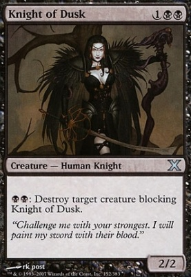 10th Edition: Knight of Dusk