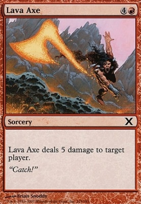 10th Edition: Lava Axe