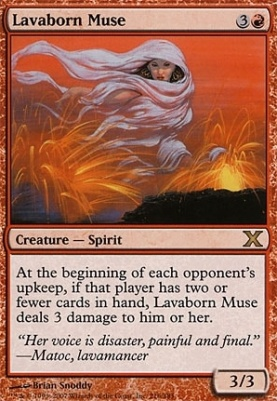 10th Edition: Lavaborn Muse