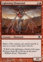 10th Edition: Lightning Elemental