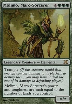 10th Edition: Molimo, Maro-Sorcerer