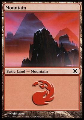 10th Edition: Mountain (376 A)