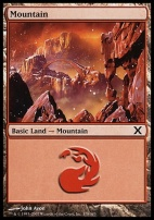 10th Edition: Mountain (378 C)