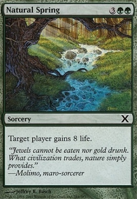 10th Edition: Natural Spring