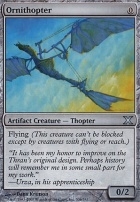 10th Edition: Ornithopter