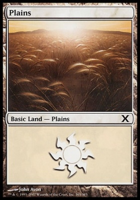 10th Edition: Plains (365 B)