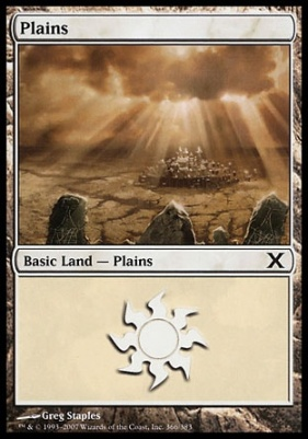 10th Edition: Plains (366 C)