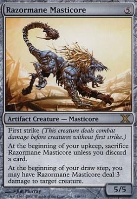 10th Edition: Razormane Masticore