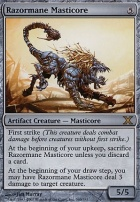 10th Edition Foil: Razormane Masticore
