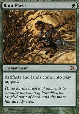 10th Edition: Root Maze