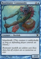 10th Edition: Rootwater Commando