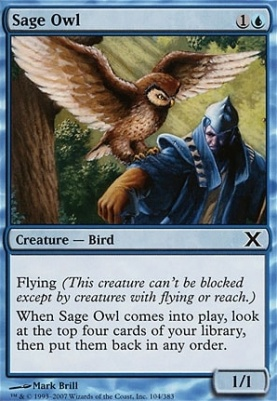 10th Edition: Sage Owl