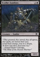 10th Edition Foil: Scathe Zombies