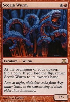 10th Edition: Scoria Wurm