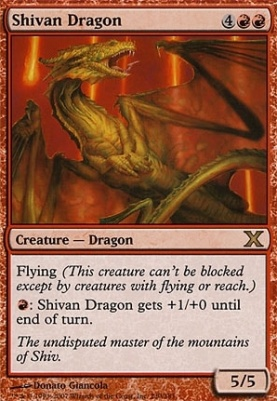 10th Edition: Shivan Dragon