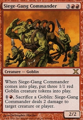10th Edition: Siege-Gang Commander